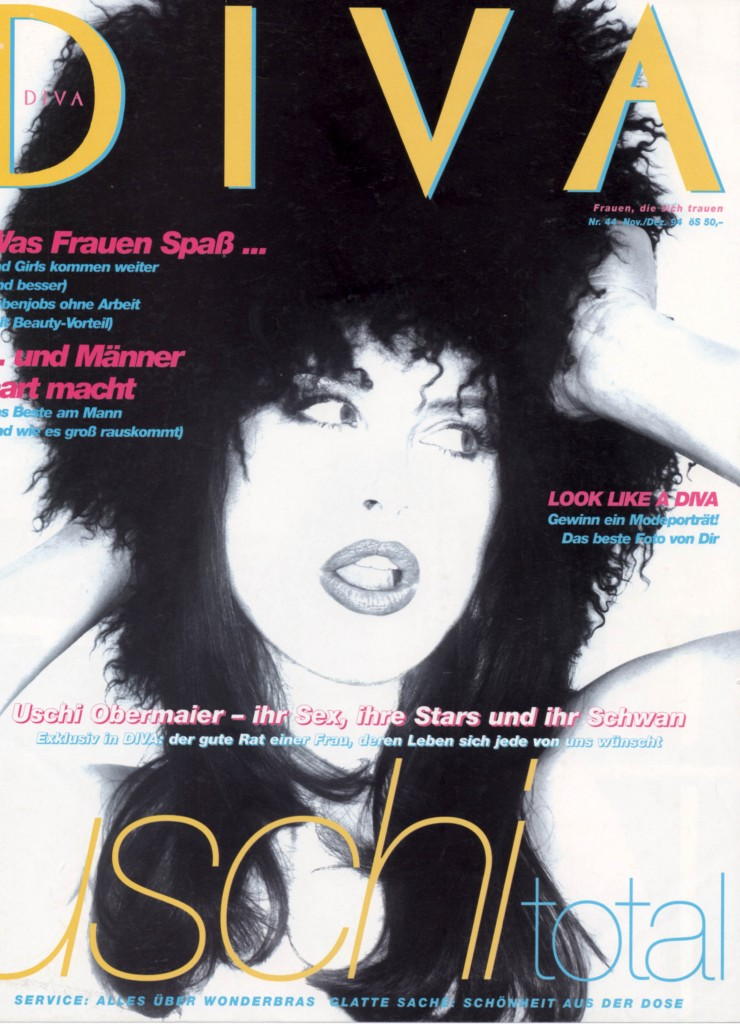 DIVA Cover; Uschi Obermaier